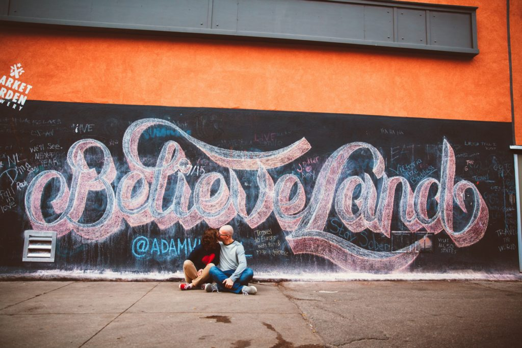 Cleveland Photographer - Believe Land Wall